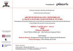 Italia Medievale: Presentazione dell'Archivio Digitale del Monferrat0