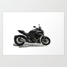 Ducati Diavel 2013 Art Print by Elias Silva Photography - $16.00