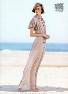 "Model: Caroline Trentini | Photographer: Patrick Demarchelier - editorial ""Swept Away"" for Vogue US, November 2011 #fashion_photography"