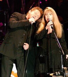 "Two of my favorites...Don Henley and Stevie Nicks Perform ""Leather and Lace,"" 2002"