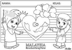 Malaysia 9 Ideas About Malaysia Coloring Pages Malaysia Flag And More