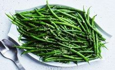 Haricots Verts (Thin French Green Beans) with Herb Butter