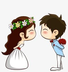 Wedding Couple Cartoon, Love Cartoon Couple, Cute Love Cartoons, Pictures To Draw, Print Pictures, Cute Pictures, Cute Love Stories, Cute Love Quotes, Couple Illustration