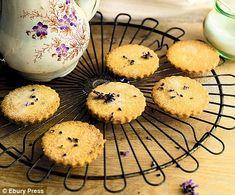 lavendar biscuits