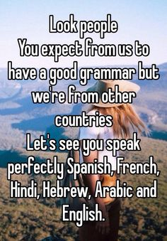 Why can't English people speak English correctly?