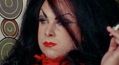 Female Trouble, 1974. Directed by John Waters; starring Divine as Dawn Davenport/Earl Peterson