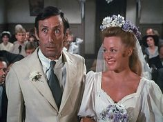 Yancy and Sissy get married - loved them both, Yancy always made me laugh and still does when I watch the Waltons!!