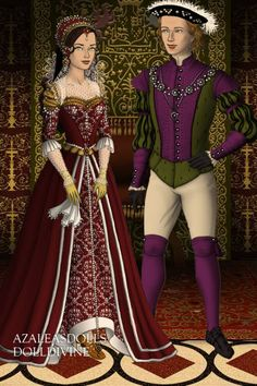 Joy In Palace ~ by Pat000 ~ created using the Tudors doll maker   DollDivine.com