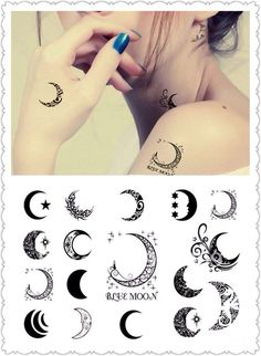 Check out >> Moon tattoo ...
