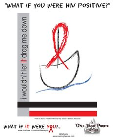 Youth HIV/AIDS awareness posters to share! Why wait til World AIDS Day 2014? #HIV #AIDS #WAD2014 #awareness Please feel free to share and no altering. #AIDSawareness San Francisco, California. One Tough Pirate Productions, Inc. #AIDSawareness #posters #HIVAIDSawarenessPosters #AIDSposters #students #HighSchoolStudents #ENDaids! What f it Were You? #WhatIfItWereYou? <3