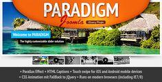 Paradigm Slider Joomla jQuery Plugin