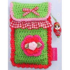 Madeliefke®: Madelotte crochet cellphonecase.