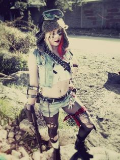This fantastic Tank girl coustme