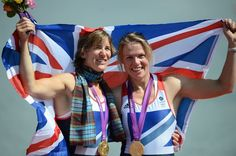 Katherine Grainger finally takes a Gold for Team GB - 4th Olympics!