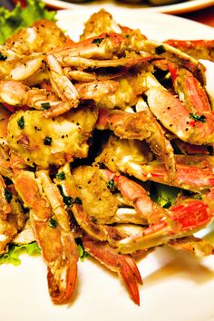 Korean Crab at Camellia Buffet