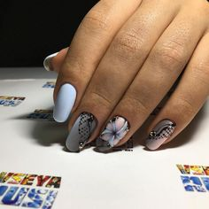 VK is the largest European social network with more than 100 million active users. Lace Nail Design, Nail Art Designs, Beautiful Nail Designs, Beautiful Nail Art, Lace Nails, Cute Nail Art, Nail Polish Colors, Manicure And Pedicure, Nail Arts