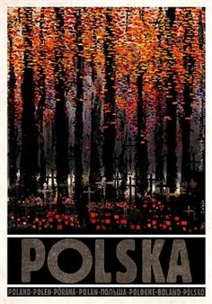 All Saints' Day in Poland Zaduszki, Polska Kaja Ryszard Polish Poster. Polish Posters, Railway Posters, Pub, Art Deco Posters, Vintage Travel Posters, Illustrations And Posters, Art Images, Photo Art, Street Art