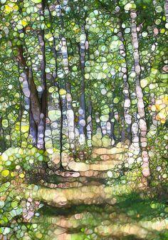 Summer Forest Mosaic