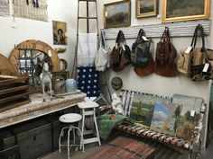 Artwork, vintage home accessories, purses, jewelry & so much more can be found in booth 523 at the Agoura Antique Mart!