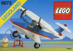 Legoland Lego Classic Set 6673 Solo Trainer Complete Vintage Retired EX Old Lego Sets, Best Lego Sets, Vintage Lego, Lego Design, Legoland, Avion Lego, Classic Lego Sets, Lego Boxes, Lego System