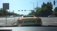 Lamborghini Driver Suffers Embarrassing Accident At Traffic Lights