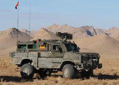 Vehículo RG-31 español en Afganistán
