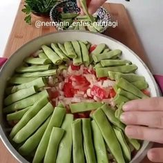 Login Sarma ve dolma – The Most Practical and Easy Recipes Turkish Delight, Arabic Food, Turkish Recipes, Homemade Beauty Products, Asparagus, Green Beans, Good Food, Food And Drink, Tasty