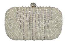 BW Collection, Women's Elegant PU/Rhinestones/Pearls Case Clutch Evening Bag-Ivory BW Collection http://www.amazon.com/dp/B00Q7AAGVK/ref=cm_sw_r_pi_dp_FRLDvb0QZRNPY