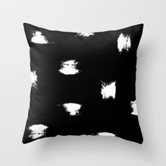 Distressed Dots V2 Throw Pillow by Wall Threads | Society6