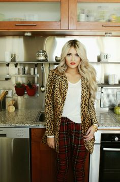 Plaid and leopard                                                       …