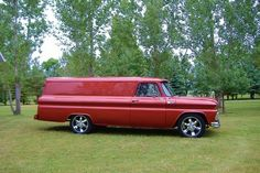 J&S Transportation This is how we Make it happen. #LGMSports transport it with http://LGMSports.com 1965 Chevrolet Panel Truck for sale