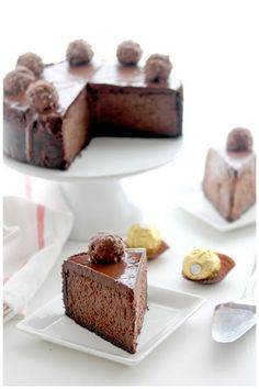 Triple Chocolate Kahlua Cheesecake