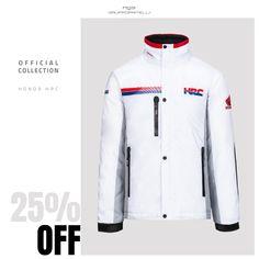 Mens Tee D/'Cor Visuals Honda HRC Graphic Short Sleeve Men/'s T-Shirt