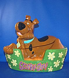 Scooby Doo Cookie Jar made by Vandor