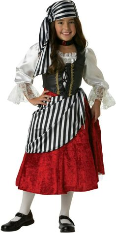 Kids Pirate Girl Halloween Costume - Pirate Costumes                                                                                                                                                                                 More