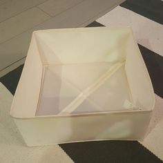 Ikea square storage bin Few smudges 12 inches wide ikea Other