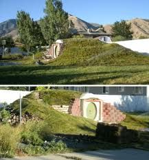 real underground house