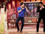Comedy Nights with Kapil: Kapil Sharma's roaring episode with Tiger Shroff and Jackie Shroff - View pics! - Bollywood News & Gossip, Movie Reviews, Trailers & Videos at Bollywoodlife.com