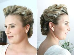 Updo for any elegant occasion Bridal Beauty, Bridal Hair, Bridal Looks, South Florida, Updos, Pearl Earrings, Elegant, Hair Styles, Fashion