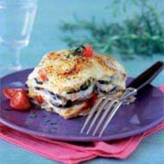 Recette de Lasagnes de boeuf et d'aubergines à la tomate avec Knorr®