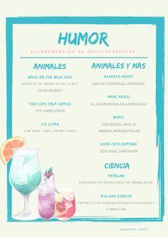 Esta semana el menú ha sido confeccionado únicamente con un ingrediente: el Humor!