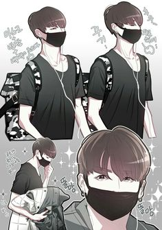K Pop Jungkook fanart