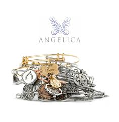 Angelica Bracelets - Expressions of Mind, Heart, and Soul. Designed and manufactured in the USA using only recycled metals. $.25 of each bracelet to Generation Rescue - Generation Rescue supports programs to improve the quality of life for those affected by autism. Currently Available at the Eleventh Hour in Rochester NY