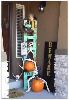 Fall & Halloween DIY decor