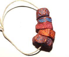 Ceramic beads by grubbi.etsy.com