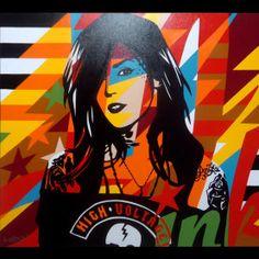Obra ‹ Lobo Pop Art