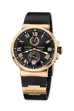 Ulysse Nardin  Marine Chronometer Manufacture  #watch #marine #ulyssenardin