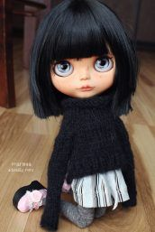 Marissa. Custom Blythe Doll