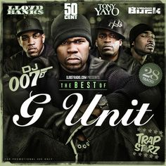 DJ 007 releases this Best of G-Unit mixtape with music from 50 Cent, Lloyd Banks, Tony Yayo, and Young Buck.  Stop by today to listen and download this mixtape free!