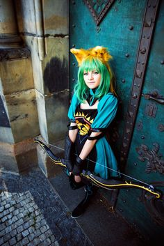 Character: Atalanta - Archer of Red Series: Fate/Apocrypha, Fate/Grand Order ----------------------------------------------- Cosplay by KayaKirklan. Atalanta - Archer of Red (FATE) cosplay Archer, The Cure, Princess Zelda, Punk, Cosplay, Sexy, Deviantart, Fictional Characters, Sterling Archer